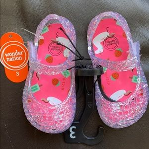 Other - Baby girl jelly shoes